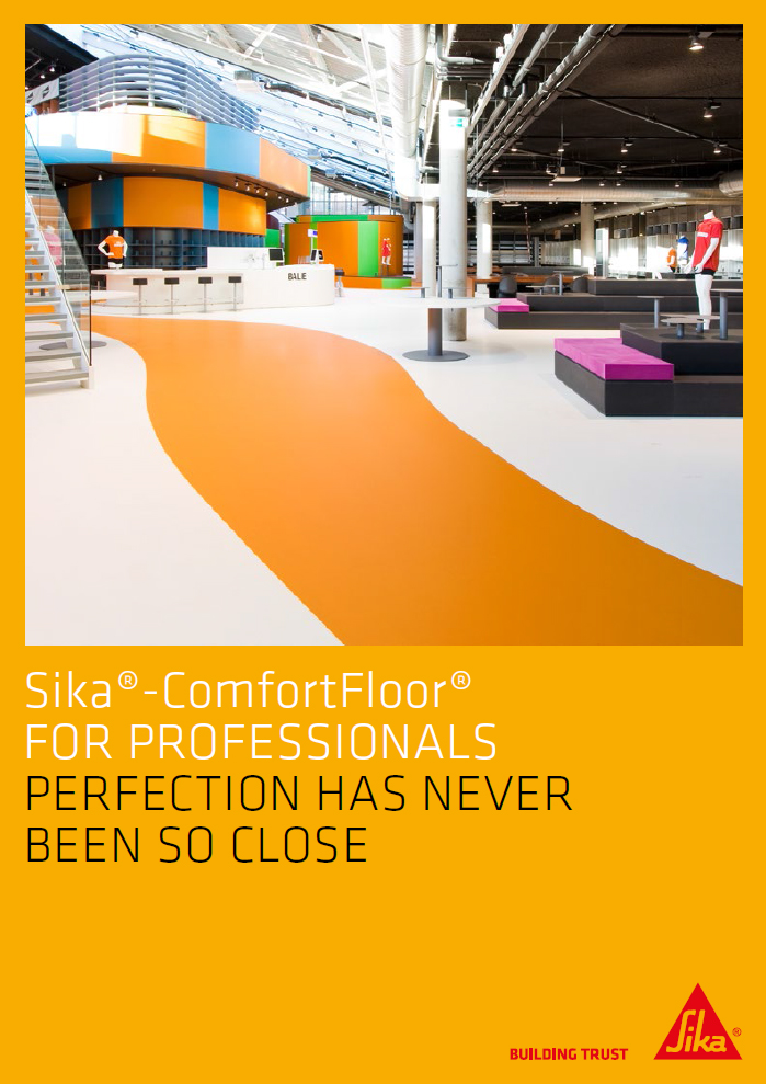 ComfortFloor® for professionals perfection has never been so close Brochure