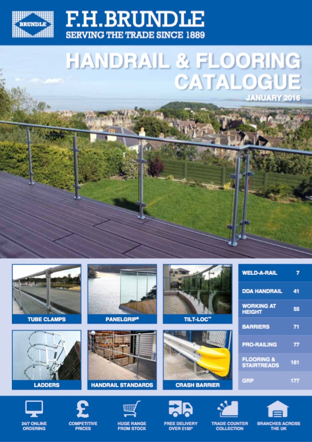 Handrail & Flooring Catalogue Brochure