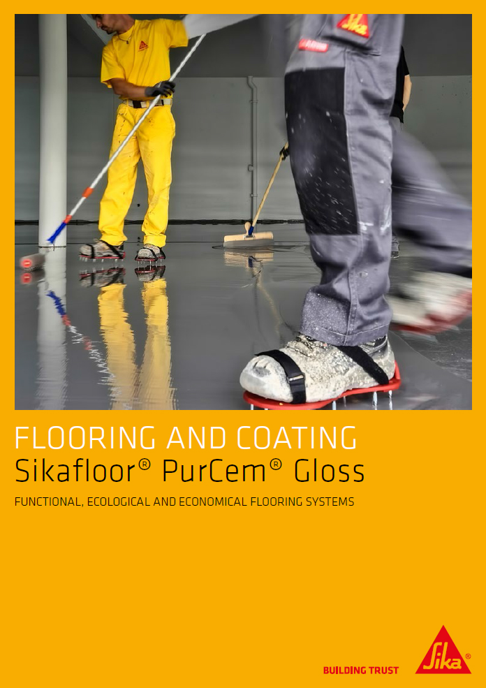 Flooring and coating - Sikafloor® PurCem® Gloss Brochure