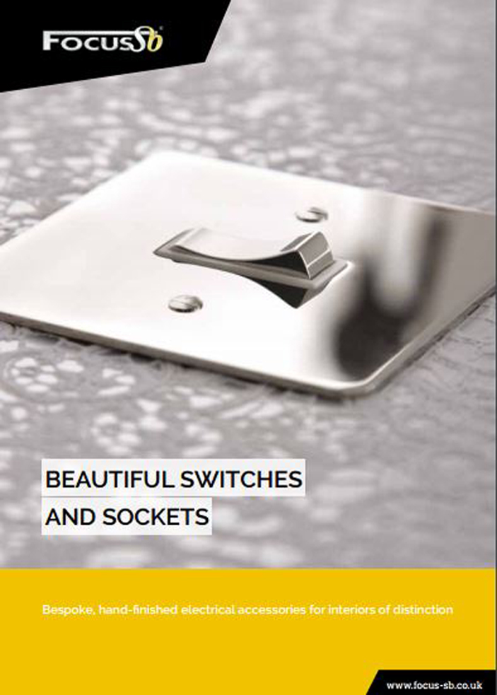 Focus SB - Beautiful Switches and Sockets Brochure