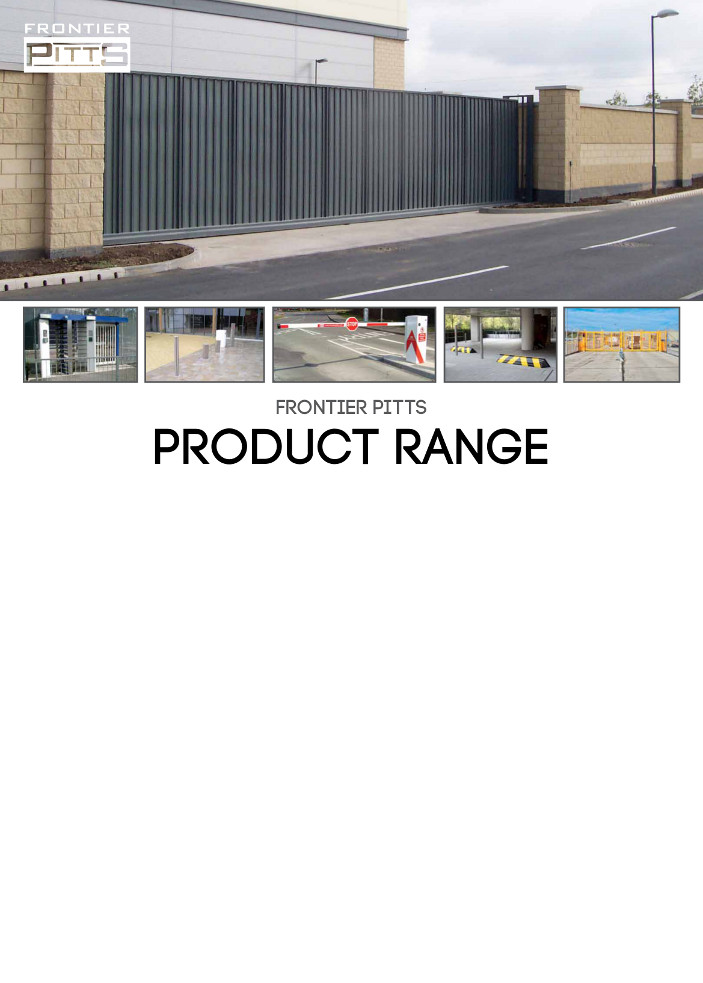 Frontier Pitts Product Range Brochure