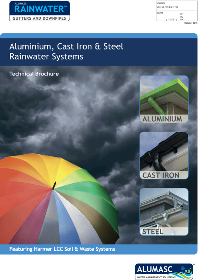 Alumasc Rainwater Technical Brochure Brochure