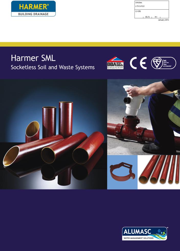 Harmer SML Soil & Waste Drainage Brochure