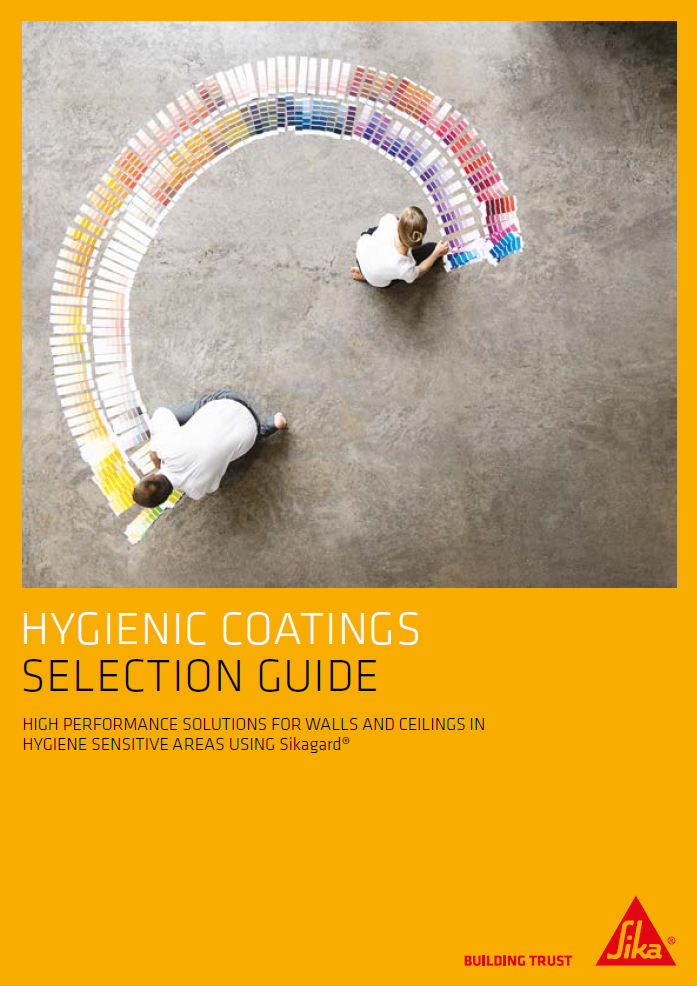 Hygienic coatings selection guide Brochure