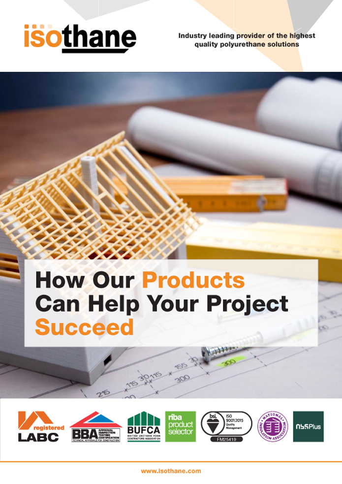 Isothane - How Our Products Can Help Your Project Succeed Brochure