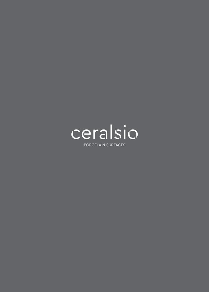 Ceralsio Porcelain surfaces Brochure