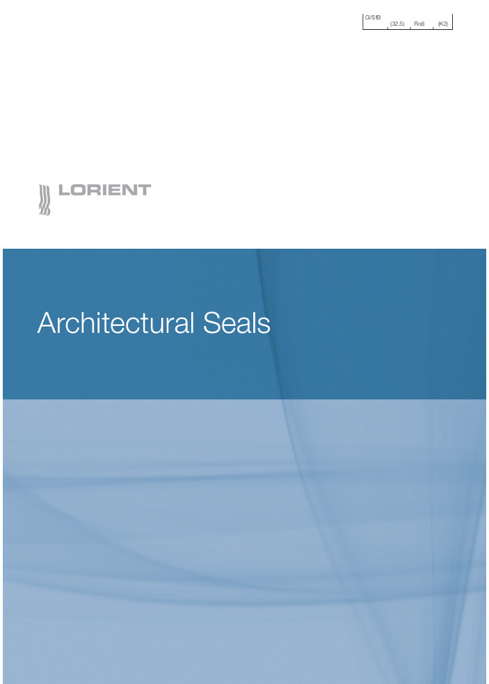 Lorient - Architectural Seals Brochure