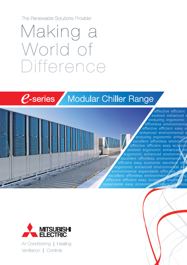 E-series Modular Chiller Range - Making a World of Difference Brochure