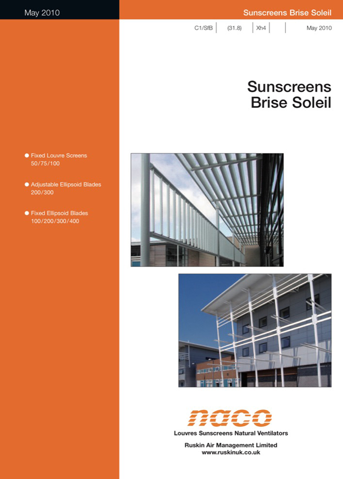 Naco Brise Soleil Brochure