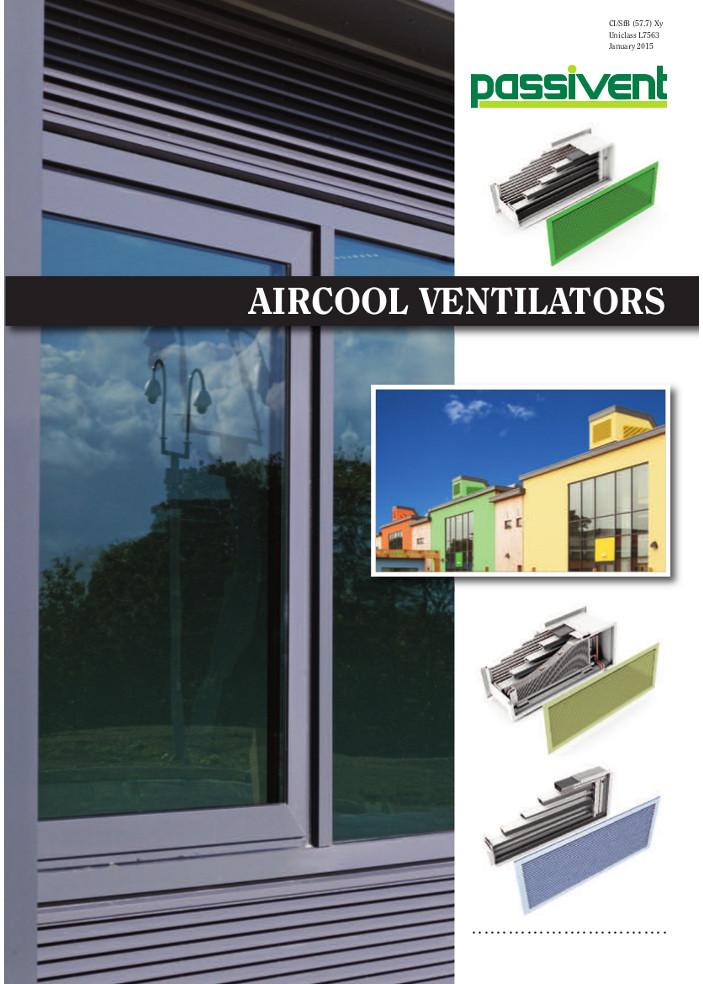 Aircool Ventilators  Brochure