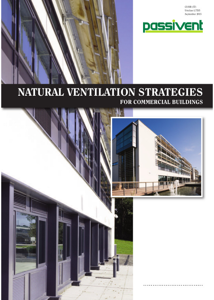 Natural Ventilation Strategies for commercial buildings      Brochure