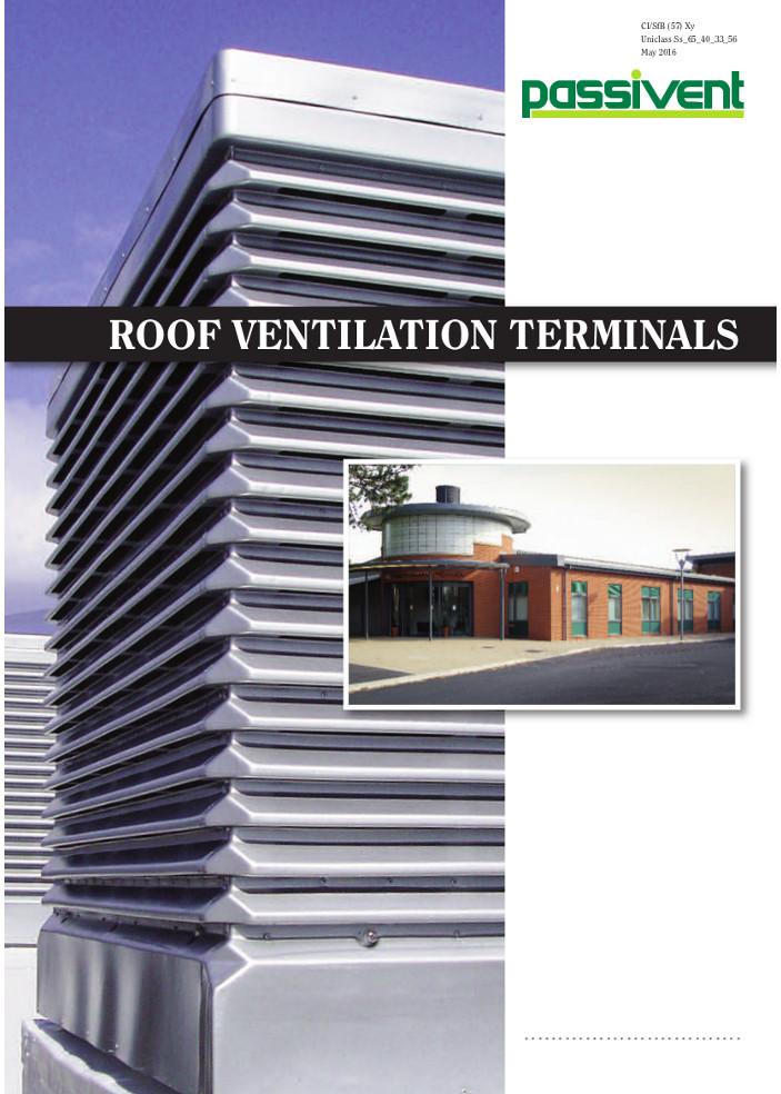 Roof Ventilation Terminals    Brochure