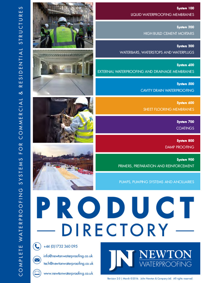 Product Directory Brochure