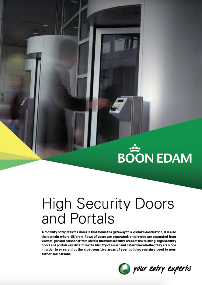 High Security Doors and Portals Brochure