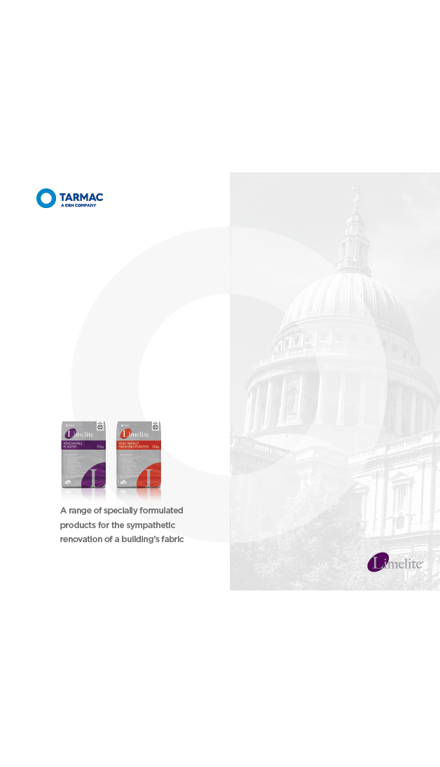 Tarmac Limelite Brochure 2016 Brochure