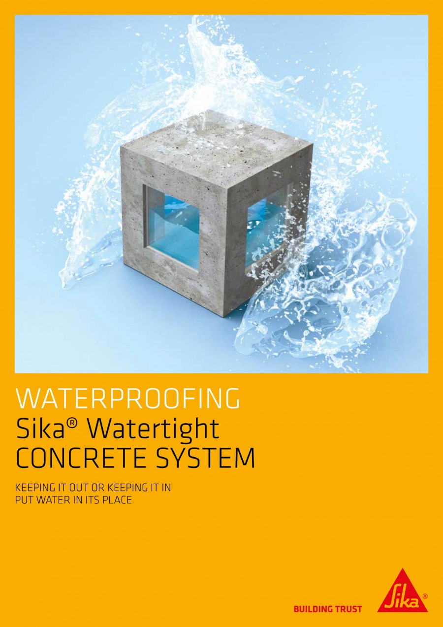 Sika® Watertight Concrete System Brochure
