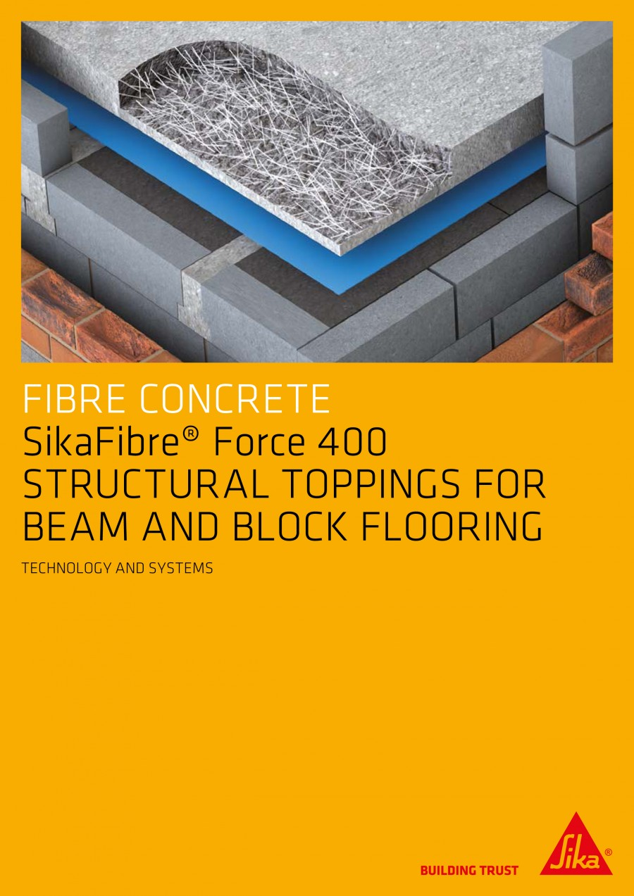 Sika Concrete Self Compacting Concrete Specification