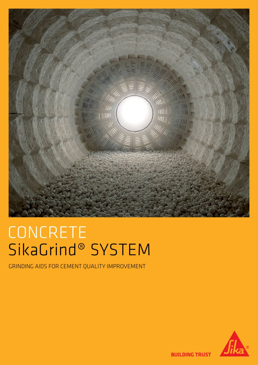 SikaGrind® Cement Quality Brochure