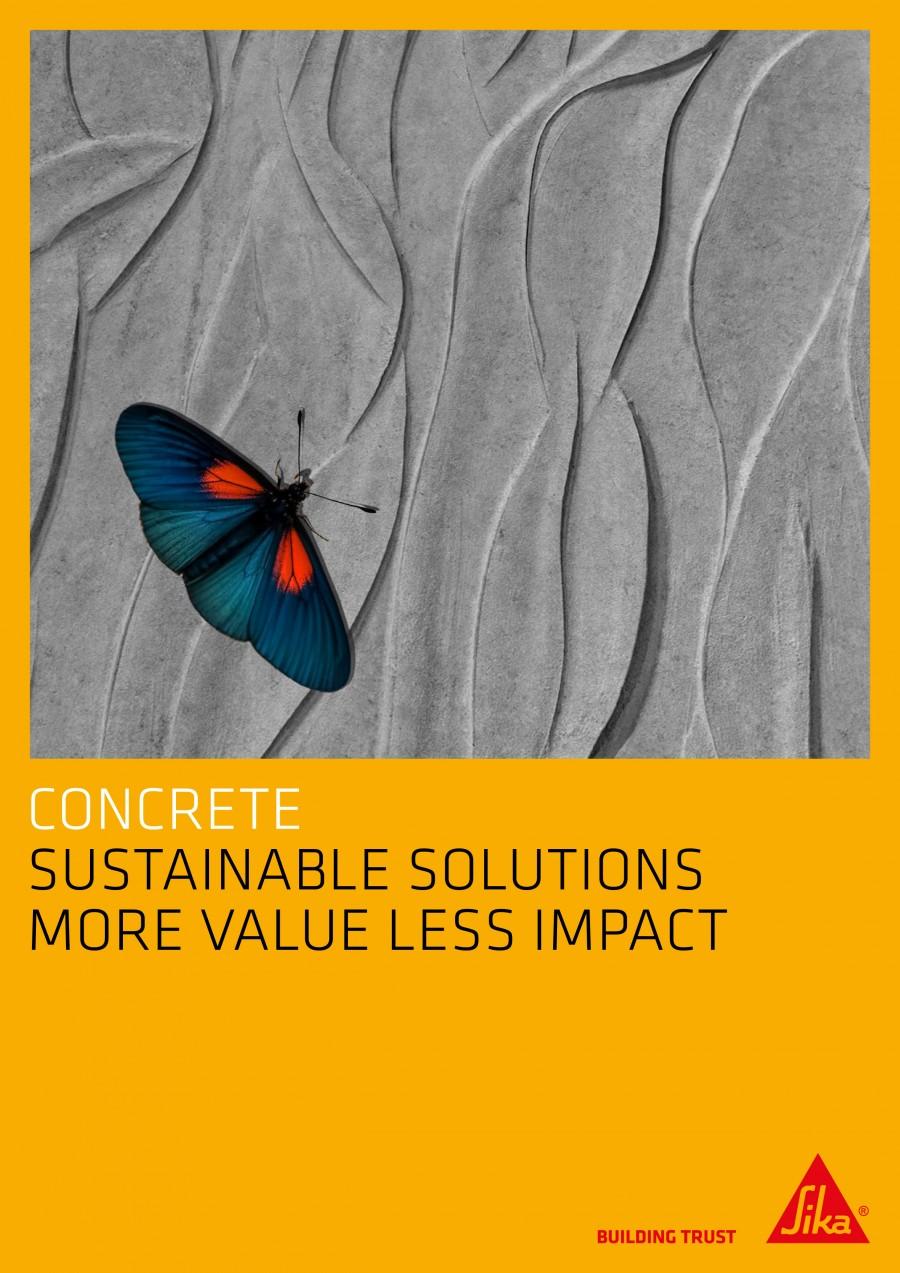 Sustainable Concrete Brochure