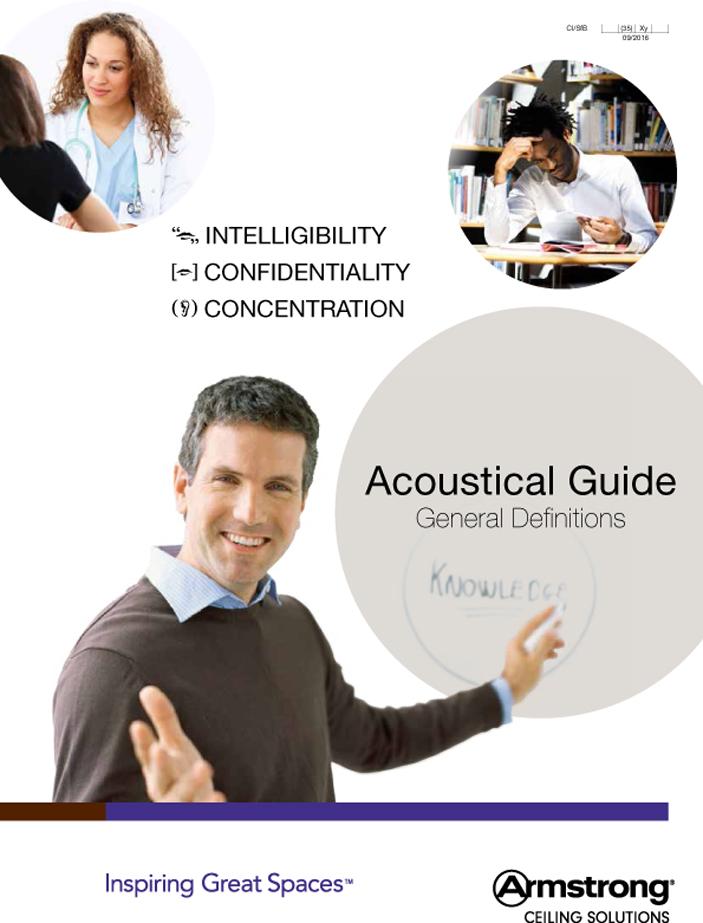 Acoustical Guide Brochure