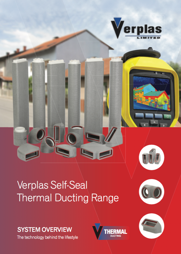 Verplas Self-Seal Thermal Ducting Range Brochure