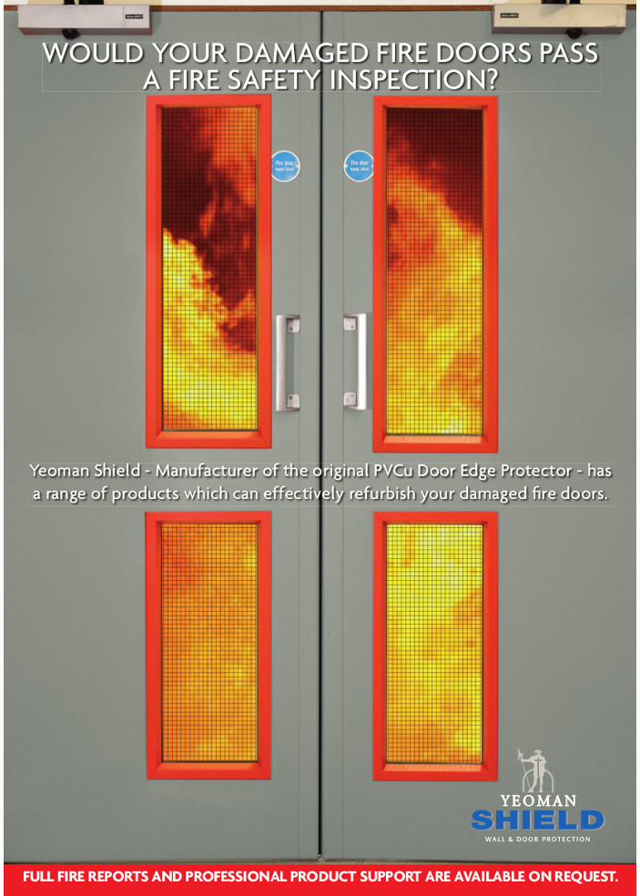 WOULD YOUR DAMAGED FIRE DOORS PASS A FIRE SAFETY INSPECTION? Brochure