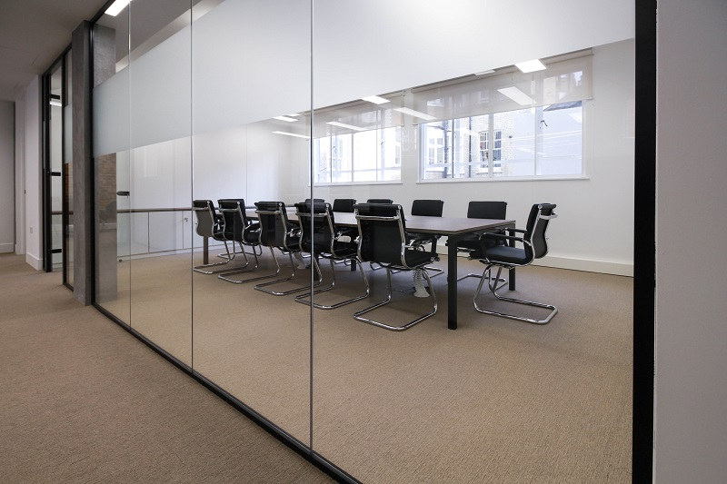 Efficient And Elegant Office Space Design Incorporates Old With New Specifi