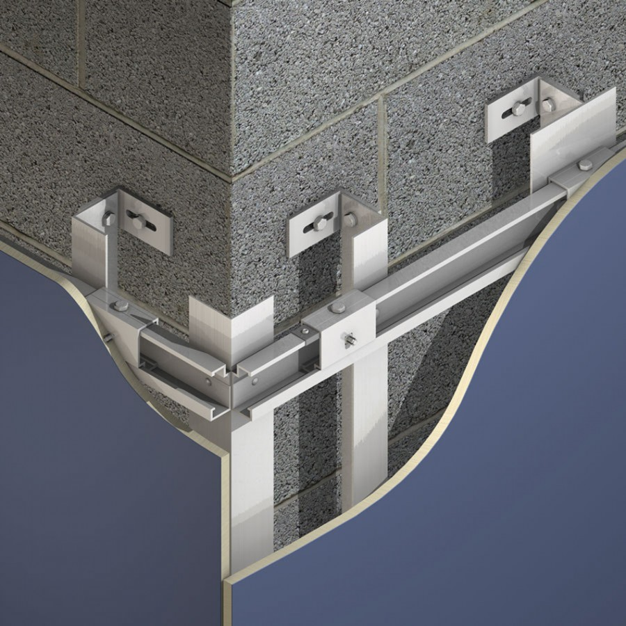 Marley Eternit Facades Cladding Fixing Systems