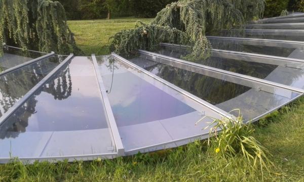 Hidden roof canopy