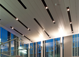 Luxalon 300A closed ceiling system