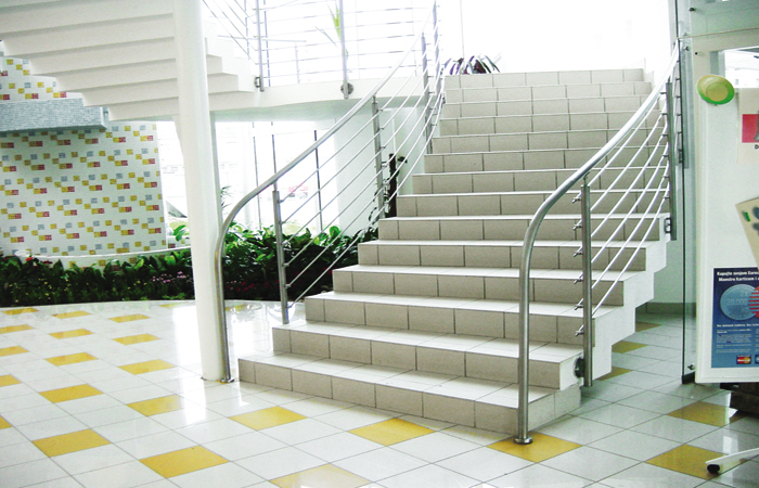 Stairs - Stainless Steel Handrail Systems