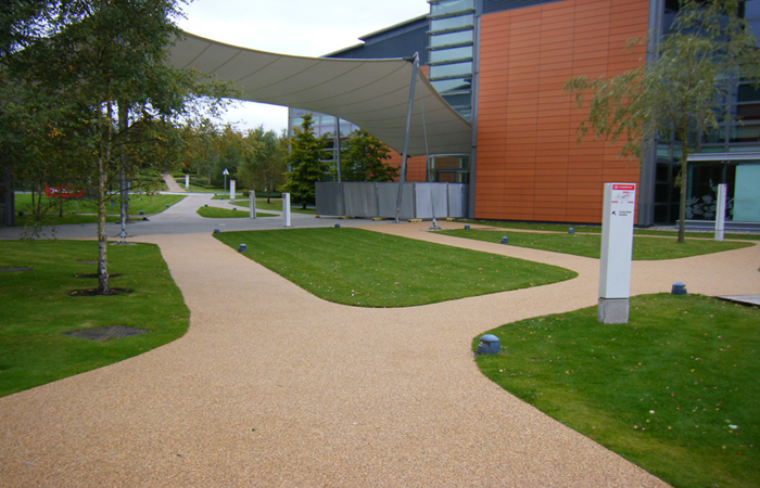 Ayton Clearmac® cold applied resin bound paving