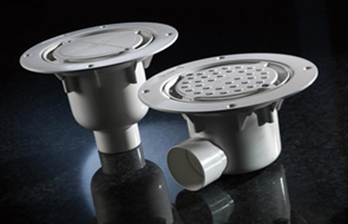 Harmer Shower - Aluminium and ABS