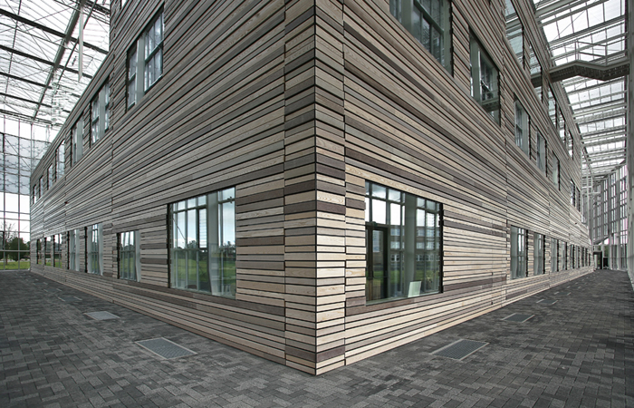 Solid Wood Facades