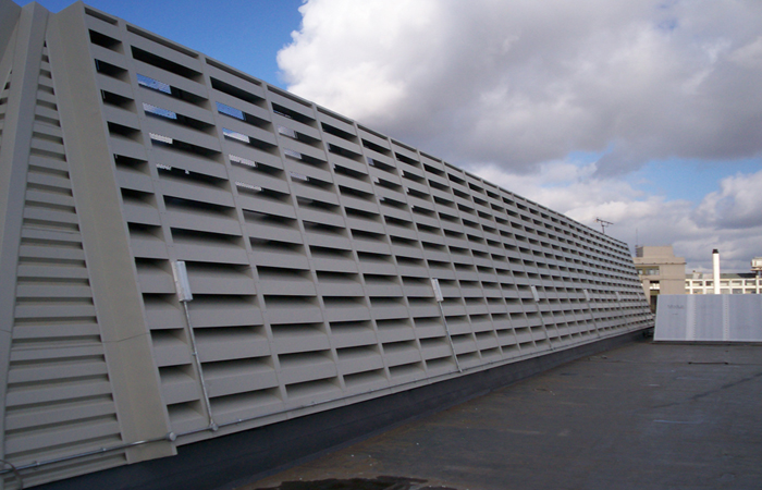 Naco External Metal Louvres