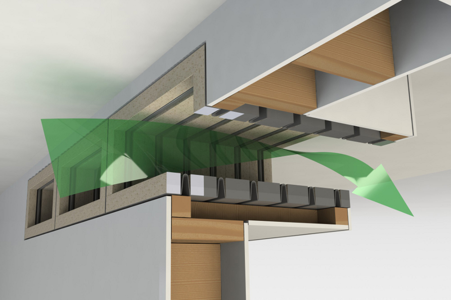 SoundScoop® acoustic transfer ventilation systems