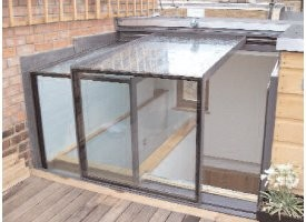 Sliding box rooflights