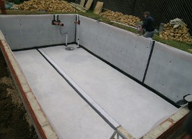 Newton System 500 Basement Waterproofing