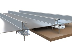 EJOT fastener creates fast installation for Standing Seam Support brackets