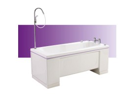 Torin height adjustable bath from Gainsborough Specialist Bathing