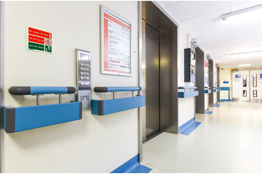 NEW Guardian Twin Handrail