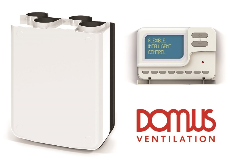 Domus Ventilation MVHR now with Bluebrain control