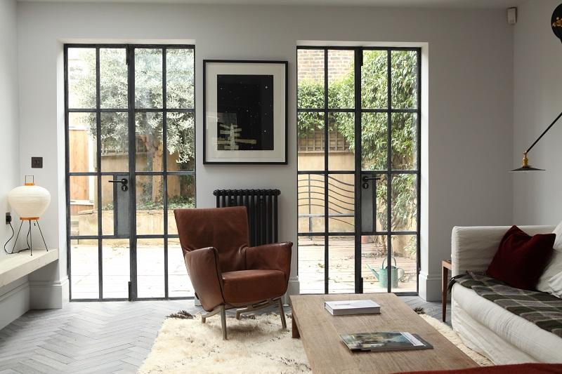Steel windows create new design aesthetic