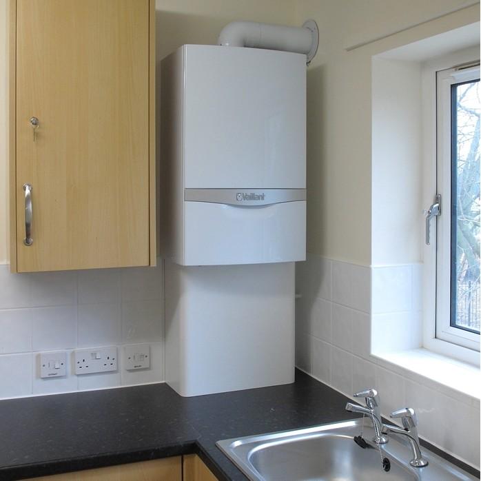 Specification online for Kitchen boiler housing unit