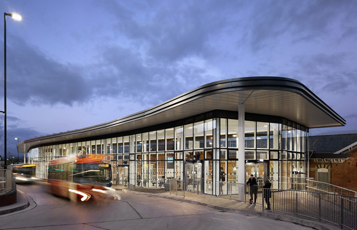 Kawneer systems help a transport interchange move into the 21st Century