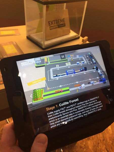 MEDITE SMARTPLY launches new augmented reality app