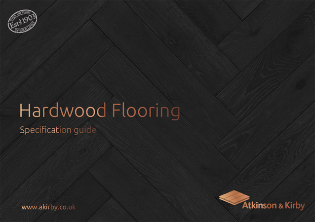 Introducing the new specification brochure from Atkinson & Kirby