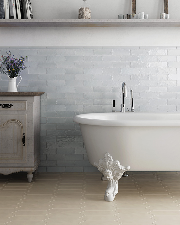 The Shifting Hues of Craven Dunnill's New Brilliance Wall Tiles