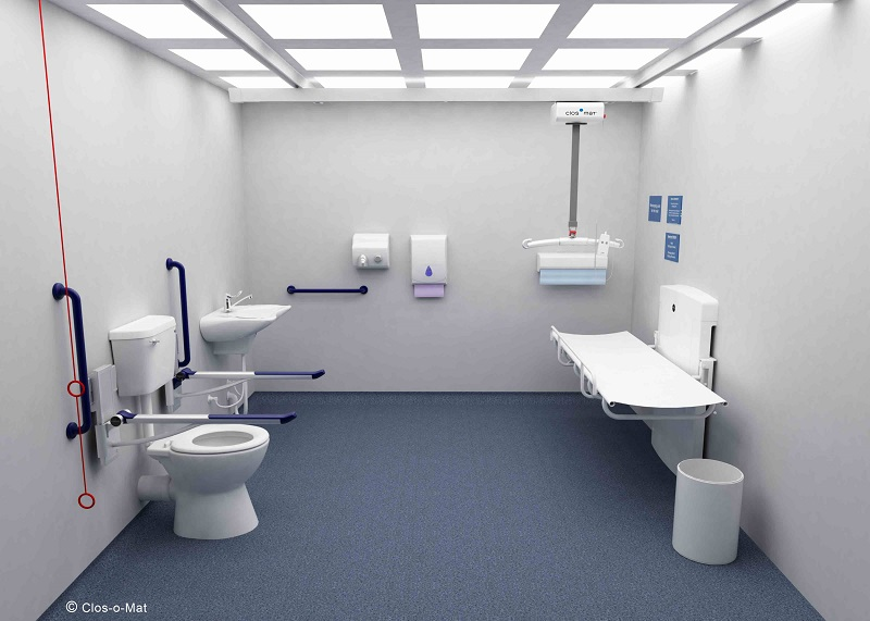 All inclusive in the loo