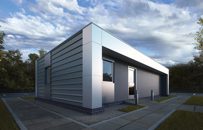 Great Dunmow Waste Transfer Station benefits from modular